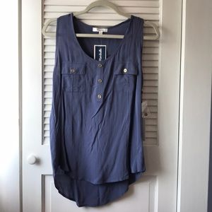 Stylish Blue Tank